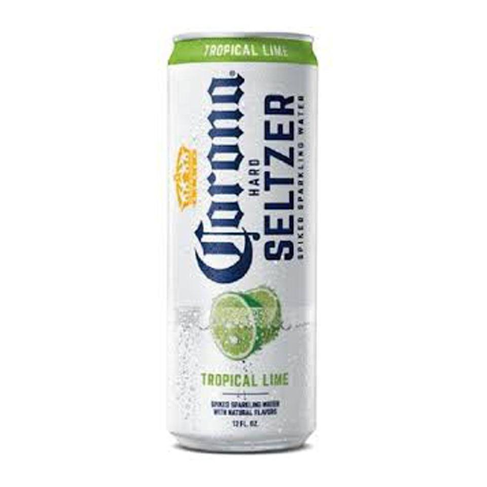 """<p>drizly.com</p><p><a href=""""https://go.redirectingat.com?id=74968X1596630&url=https%3A%2F%2Fdrizly.com%2Fbeer%2Fspecialty-beer-alternatives%2Fhard-seltzer%2Fcorona-hard-seltzer-gluten-free-spiked-sparkling-water-variety-pack%2Fp100678&sref=https%3A%2F%2Fwww.cosmopolitan.com%2Ffood-cocktails%2Fg36596713%2Fbest-hard-seltzers%2F"""" rel=""""nofollow noopener"""" target=""""_blank"""" data-ylk=""""slk:BUY IT HERE"""" class=""""link rapid-noclick-resp"""">BUY IT HERE</a></p><p>What makes the lime """"tropical,"""" you may be asking? Probably just branding—but there may be something to a slightly more citrusy aftertaste.<br><strong><br>Crushability:</strong> 4<strong><br>Craveability:</strong> 3.5<br><strong>Creativity:</strong> 2<br><strong>Overall:</strong> 9.5<br><br><strong>Calories:</strong> 90<br><strong>Sugar:</strong> 0g<strong><br>ABV:</strong> 4.5%</p>"""