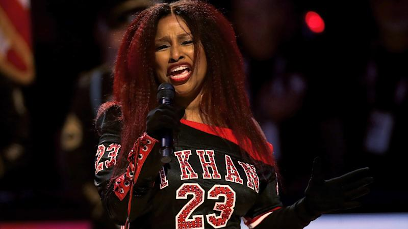 Chaka Khan's long national anthem at NBA All-Star Game draws Fergie comparisons