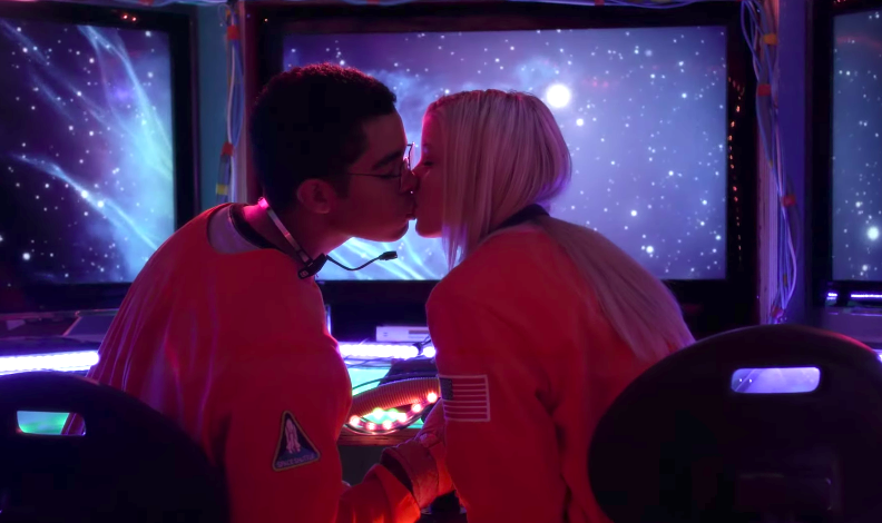 Jenna and Connor virtual space date