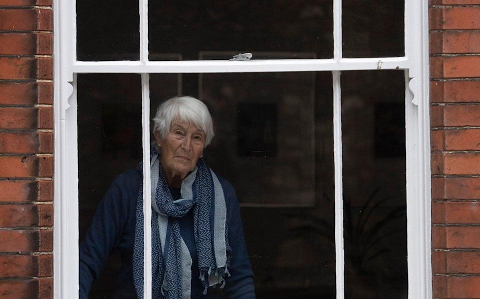 Janet Yapp, 85, sees herself as lucky because she is fit and healthy – but is concerned about her older friends - Eddie Mulholland