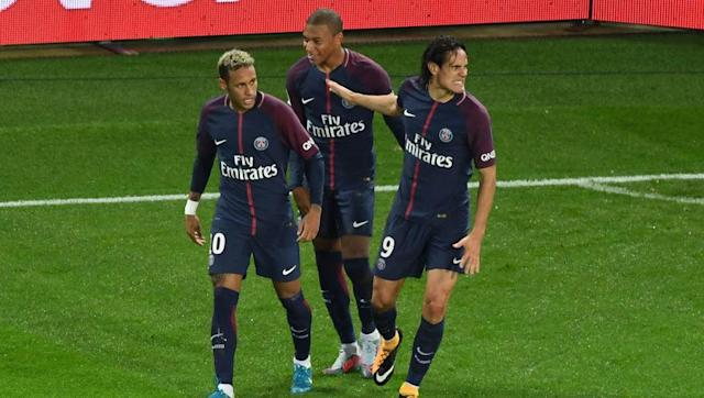 <br><p>With such quality in the front 3 it would be hard to say the whole is greater than the sum of its parts. But at PSG, Cavani makes everything click into place. </p> <br><p>Neymar is a forward who thrives on the left and Mbappe has started to show promise in a wide position as well. Cavani is needed to be that man in the middle to score off of the wingers' assists. </p>