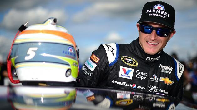 Kahne wins wreck-filled Brickyard 400 in overtime