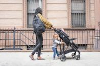 """<p>Strollers can take a lot of wear and tear, but there are a myriad of reasons you should purchase a new one when you have a baby. The biggest concern is safety, as items may have <a href=""""https://www.aarp.org/home-family/friends-family/info-2017/yard-sale-items-fd.html"""" rel=""""nofollow noopener"""" target=""""_blank"""" data-ylk=""""slk:been recalled or outdated"""" class=""""link rapid-noclick-resp"""">been recalled or outdated</a> and without the manual you'd never know. </p>"""