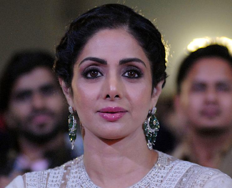 Fans are grieving Sridevi's death (AFP Photo/Sujit Jaiswal)