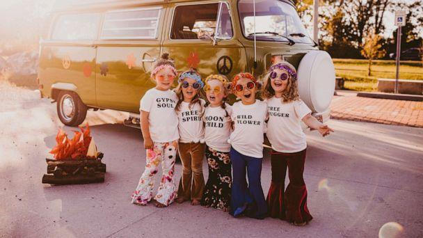 PHOTO: Aurora, Olive, Haven, Lyla and Aubrey, all 3 years old, pose together once a year to celebrate their friendship. (Shutter Darling Photography, LLC)