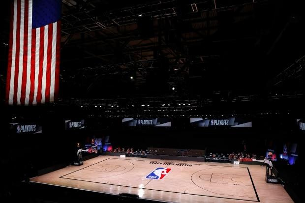 NBA players' unprecedented protest forces league into delicate diplomacy