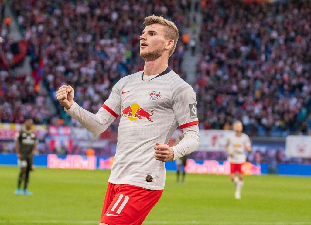 Comme Vardy, Werner a inscrit 13 buts en Championnat depuis le début de la saison. Mais il en a également mis 2 en C1.