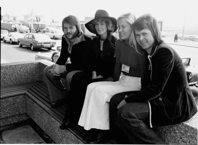 ABBA in 1974. (Phot: Michael Putland/Getty Images)
