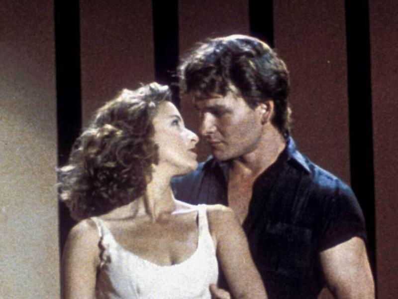 "Jennifer Grey und Patrick Swayze als Traumpaar Baby und Johnny in ""Dirty Dancing"" aus dem Jahr 1987. (Bild: imago images / Cinema Publishers Collection)"