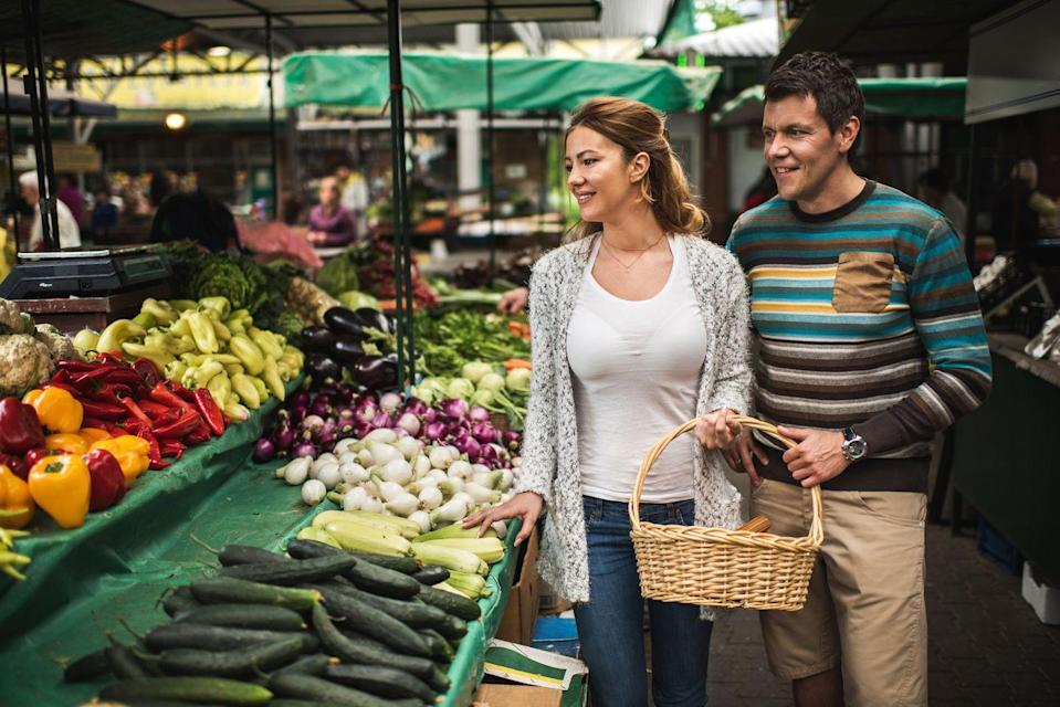 <p>It's veggie season. Stop into a local market to pick up fresh produce. And if the squash and pumpkins start calling your names, answer. </p>