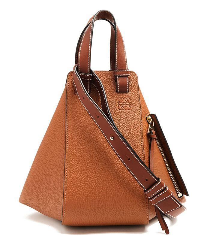 Wear a simple summer dress with this geometric bag.
