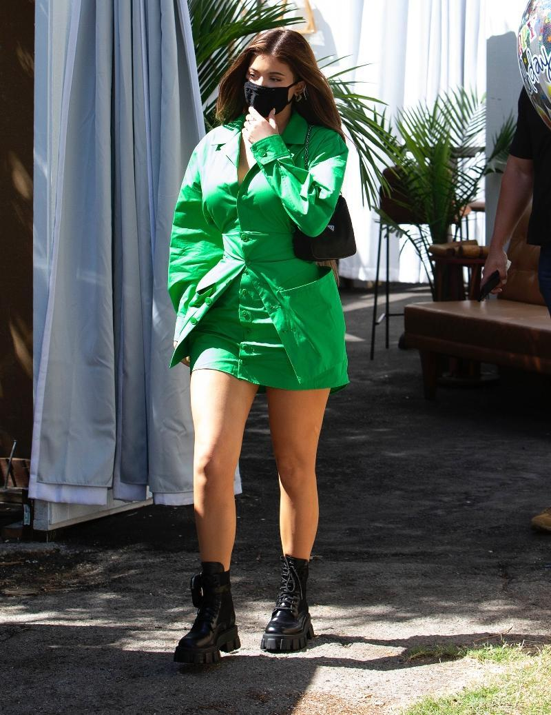 Kylie Jenner out and about in Los Angeles, Aug. 13. - Credit: TherealSPW/MEGA