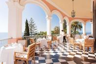 """<p>From its iconic chequerboard tile dining terrace, to its white liveried staff and ornate marble bathrooms, everything at <a href=""""https://go.redirectingat.com?id=127X1599956&url=https%3A%2F%2Fwww.booking.com%2Fhotel%2Fpt%2Freid-s-palace.en-gb.html%3Faid%3D1922306%253Faid%253D1922306%26label%3Dmadeira-hotels&sref=https%3A%2F%2Fwww.goodhousekeeping.com%2Fuk%2Flifestyle%2Ftravel%2Fg37065833%2Fmadeira-hotels%2F"""" rel=""""nofollow noopener"""" target=""""_blank"""" data-ylk=""""slk:Reid's Palace"""" class=""""link rapid-noclick-resp"""">Reid's Palace</a> is done with a touch of class. The island's most famous place to stay and known as Madeira's best hotel, it combines elegant interiors and first-class dining with a wealth of spaces to explore, relax or get active.</p><p>You can immerse yourself in a blaze of colour wandering through the hotel's 10-acre gardens, lined with exotic plants from all around the world, re-vitalise and breathe in the soft sea air in the beautiful indoor-outdoor spa, and choose between three pools, a gym and tennis courts for a work out. Or, if you prefer, simply order a cocktail and admire the views!</p><p><a class=""""link rapid-noclick-resp"""" href=""""https://go.redirectingat.com?id=127X1599956&url=https%3A%2F%2Fwww.booking.com%2Fhotel%2Fpt%2Freid-s-palace.en-gb.html%3Faid%3D1922306%253Faid%253D1922306%26label%3Dmadeira-hotels&sref=https%3A%2F%2Fwww.goodhousekeeping.com%2Fuk%2Flifestyle%2Ftravel%2Fg37065833%2Fmadeira-hotels%2F"""" rel=""""nofollow noopener"""" target=""""_blank"""" data-ylk=""""slk:CHECK AVAILABILITY"""">CHECK AVAILABILITY</a></p>"""