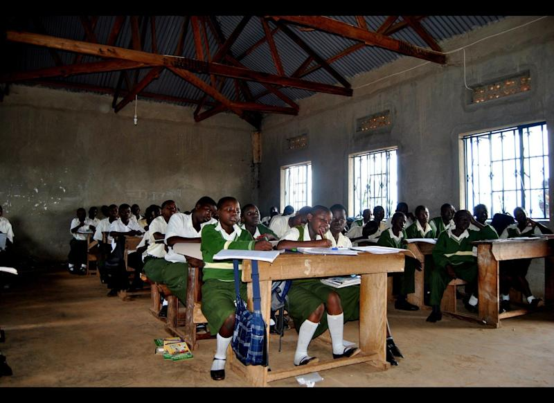 While universal primary education has made it easier for children in Uganda to attend school, it has put the school system under tremendous pressure as schools found themselves unprepared to accommodate the doubling of enrollments. Many classrooms can have up to 100 students in one room with one teacher.