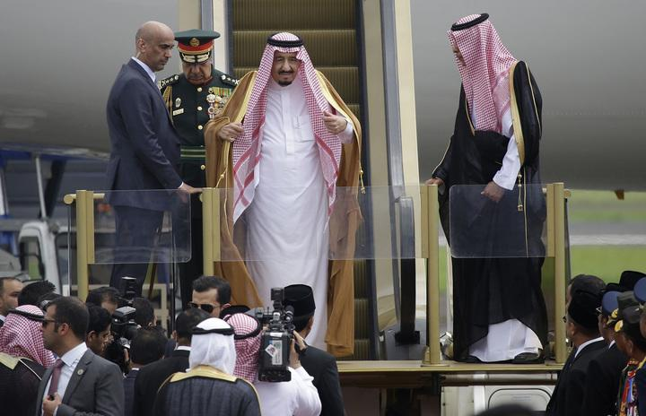 BYO escalators: This Saudi royal likes to travel in style (Credit: AP/REX/Shutterstock)