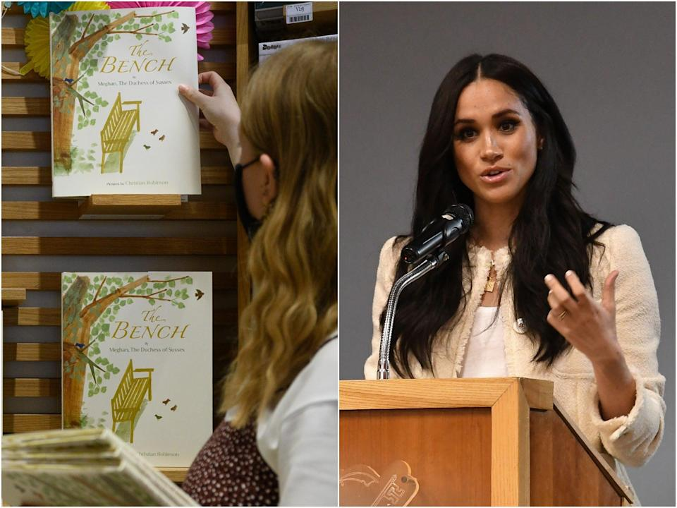 <p>Meghan Markle's new children's book was panned by critics upon its release but still hit the top spot on some children's book charts. </p> (Getty)