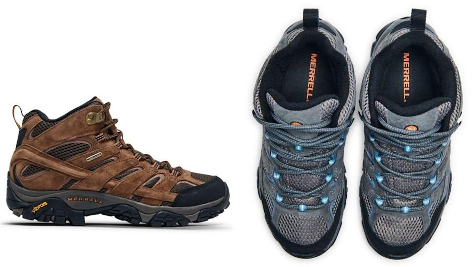 Durable hiking shoes are essential to any gravel or muddy hike.