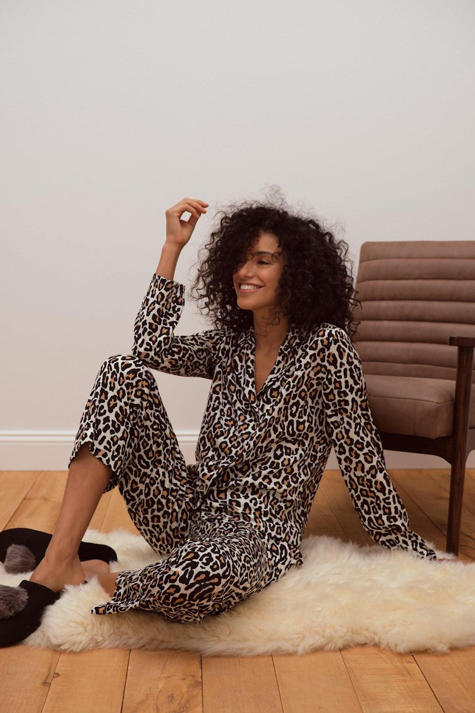 "<strong>— PAID —</strong><br><br>These days, it's perfectly acceptable to stay in PJs all day. Give the serial lounger in your crew a major upgrade with this luxe sleepwear set.<br><br><strong>Banana Republic Factory</strong> Pajama Top, $, available at <a href=""https://go.skimresources.com/?id=30283X879131&url=https%3A%2F%2Fbananarepublicfactory.gapfactory.com%2Fbrowse%2Fproduct.do%3Fpid%3D662517031%23pdp-page-content"" rel=""nofollow noopener"" target=""_blank"" data-ylk=""slk:Banana Republic Factory"" class=""link rapid-noclick-resp"">Banana Republic Factory</a><br><br><strong>Banana Republic Factory</strong> Pajama Bottom, $, available at <a href=""https://go.skimresources.com/?id=30283X879131&url=https%3A%2F%2Fbananarepublicfactory.gapfactory.com%2Fbrowse%2Fproduct.do%3Fpid%3D654022041%23pdp-page-content"" rel=""nofollow noopener"" target=""_blank"" data-ylk=""slk:Banana Republic Factory"" class=""link rapid-noclick-resp"">Banana Republic Factory</a>"