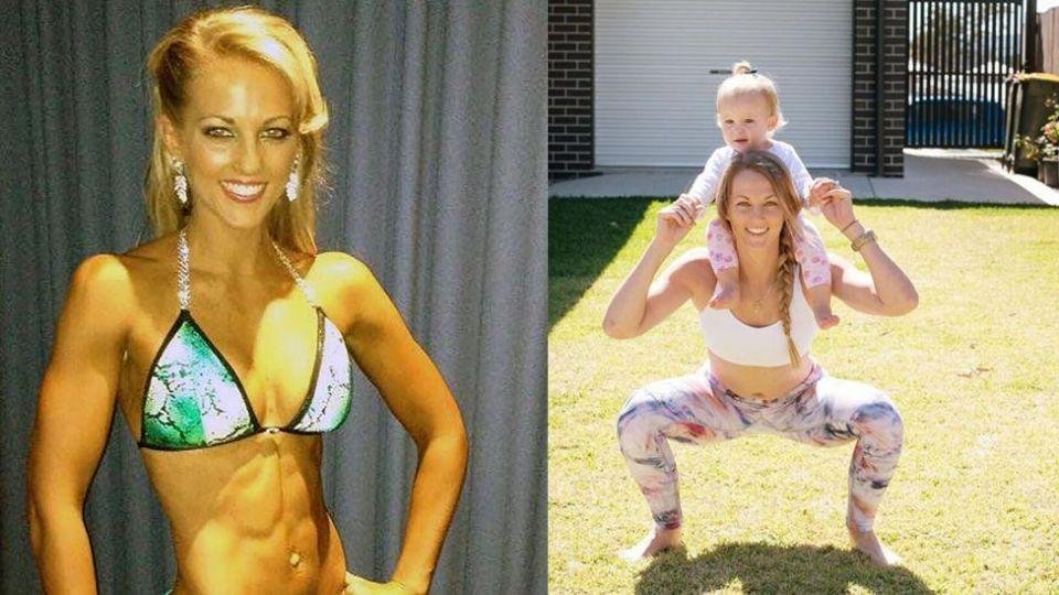 The former bodybuilder always knew she wanted to be a mum. Image: Caters