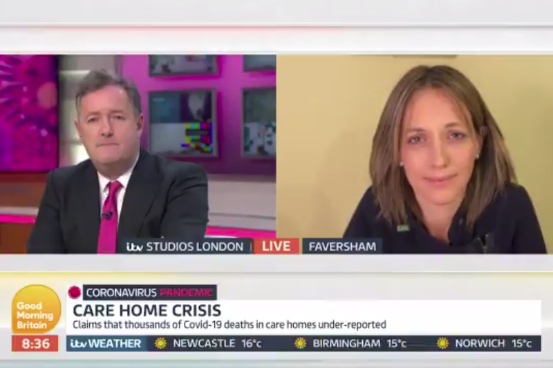 Morgan and Whately argued during an interview (Good Morning Britain)