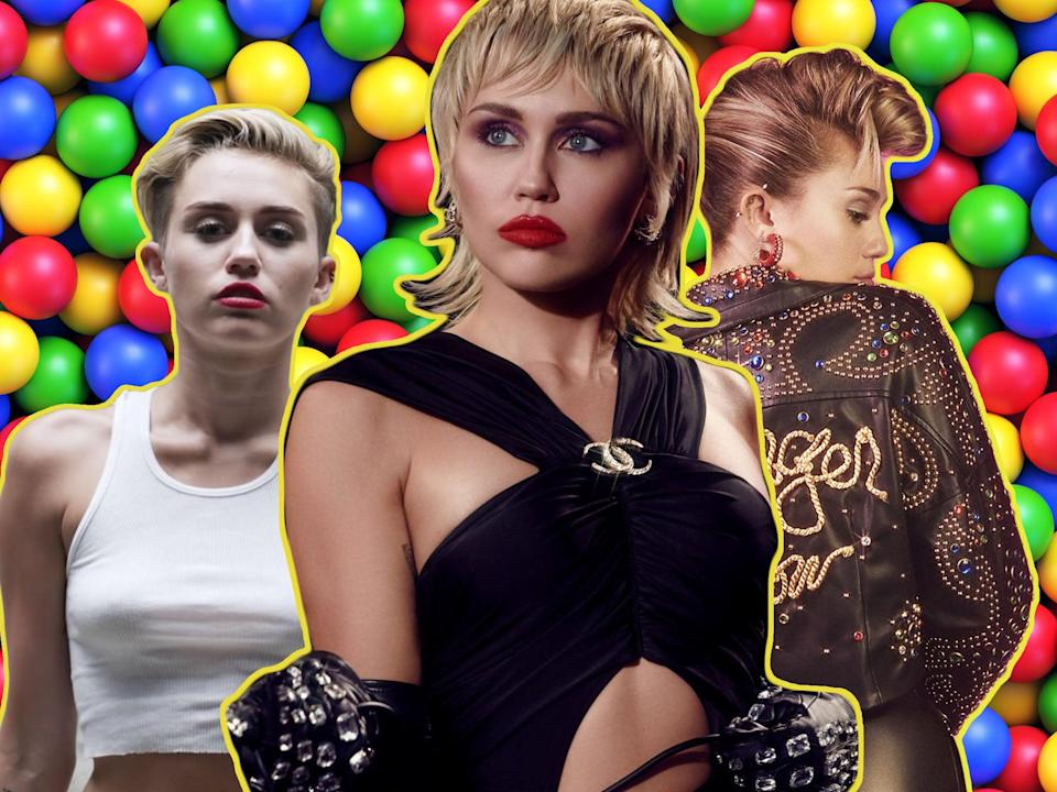 Miley Cyrus, who's responsible for one of the most fascinating discographies in modern music (RCA)