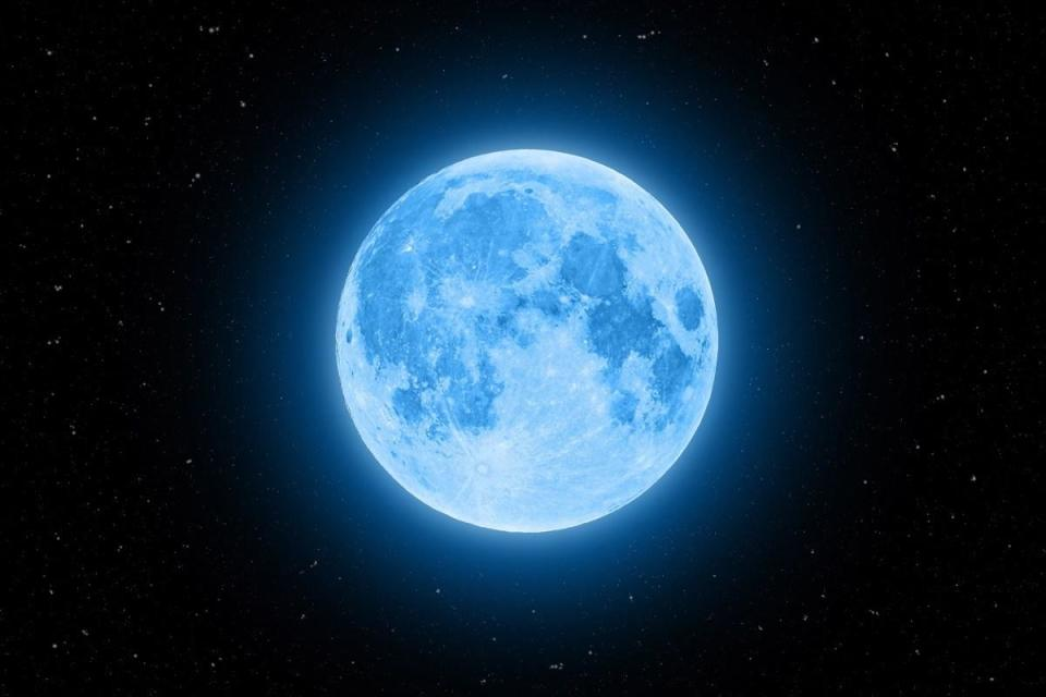"""It's common knowledge that the moon travels around the Earth, but not everyone is aware of the fact that the <a href=""""https://www.bbc.com/news/science-environment-12311119"""" rel=""""nofollow noopener"""" target=""""_blank"""" data-ylk=""""slk:distance between the moon and the Earth is increasing"""" class=""""link rapid-noclick-resp"""">distance between the moon and the Earth is increasing</a>. As the relatively small spacial body continues its celestial spinning, it moves 1.48 inches away from our planet each year, which is around the same speed that human fingernails grow, according to the BBC. This also means that the moon was likely much closer. Scientists believe that when the moon was first formed, it was around 14,000 miles away. Nowadays, it's about 250,000 miles from us."""