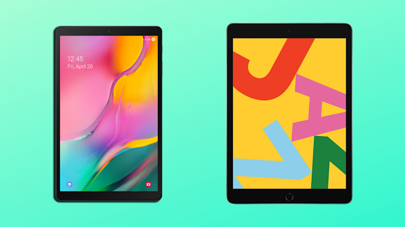 Save on all sorts of tablets for Black Friday. (Photo: Amazon/Walmart/Yahoo Lifestyle)