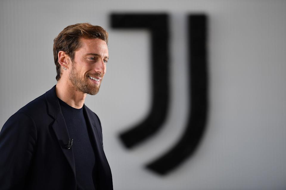 TURIN, ITALY - OCTOBER 03:  Former Juventus player Claudio Marchisio retires from football at Allianz Stadium on October 3, 2019 in Turin, Italy.  (Photo by Valerio Pennicino - Juventus FC/Juventus FC via Getty Images) (Photo: Valerio Pennicino - Juventus FC via Getty Images)