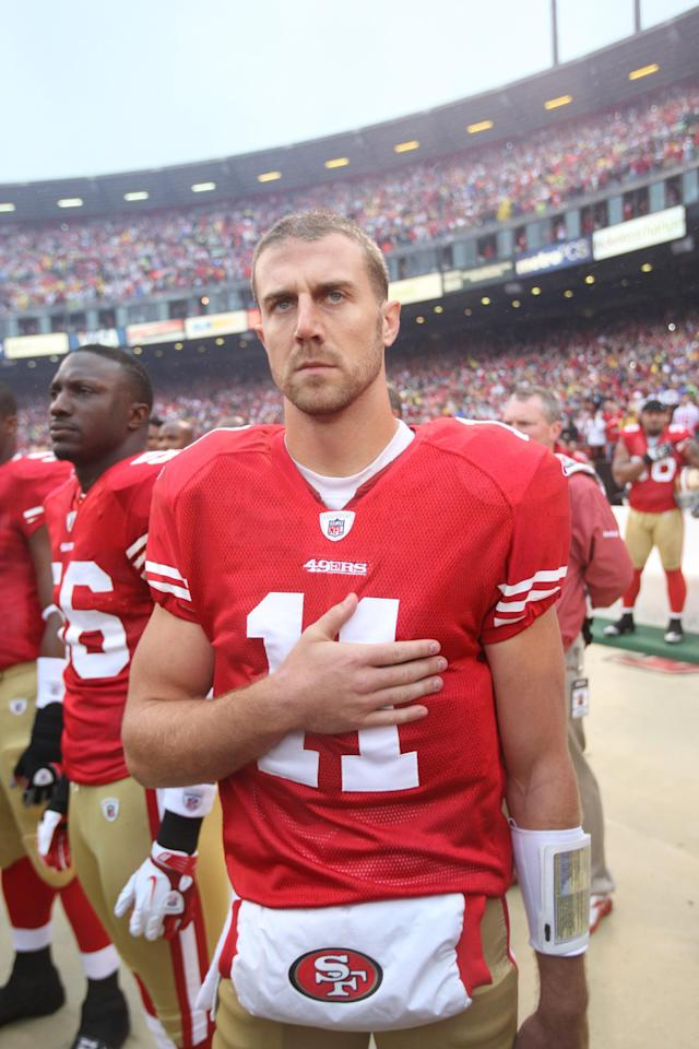 49ers quarterback Alex Smith