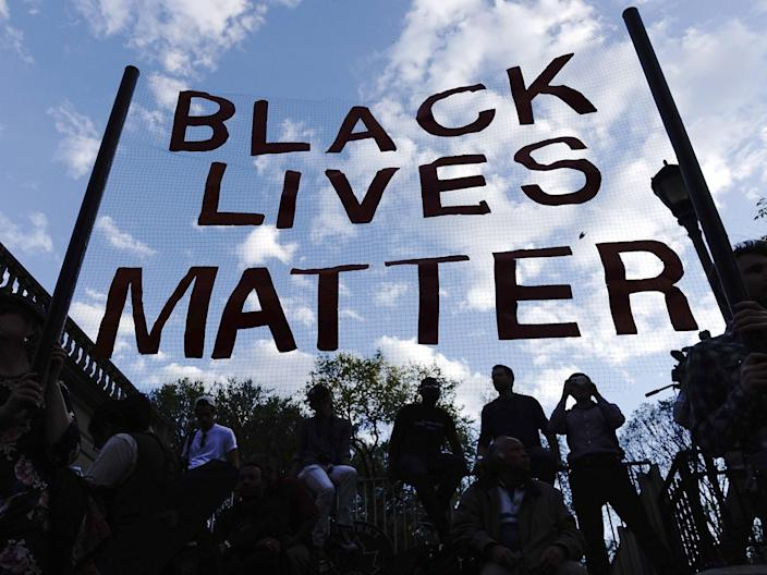 The US continues to grapple with police-related deaths of black Americans (AFP/Getty Images)