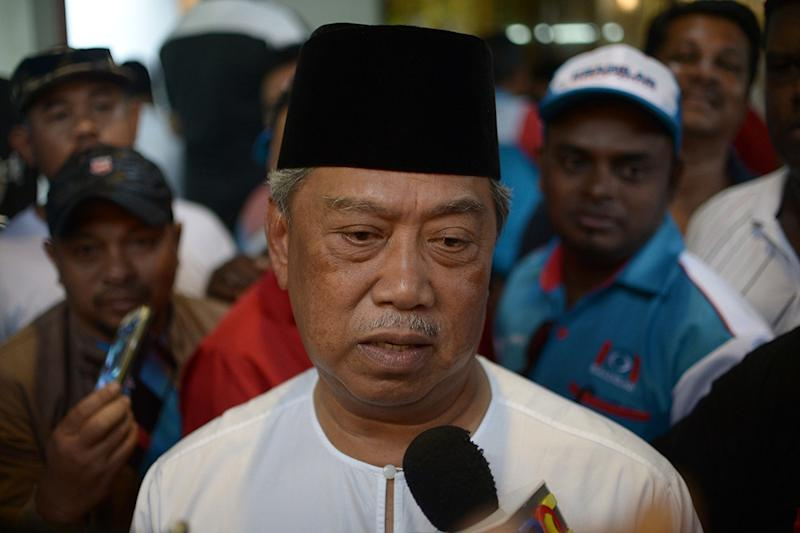 File picture of PPBM president Tan Sri Muhyiddin Yassin in Bukit Segambut May 16, 2018. — Picture by Mukhriz Hazim