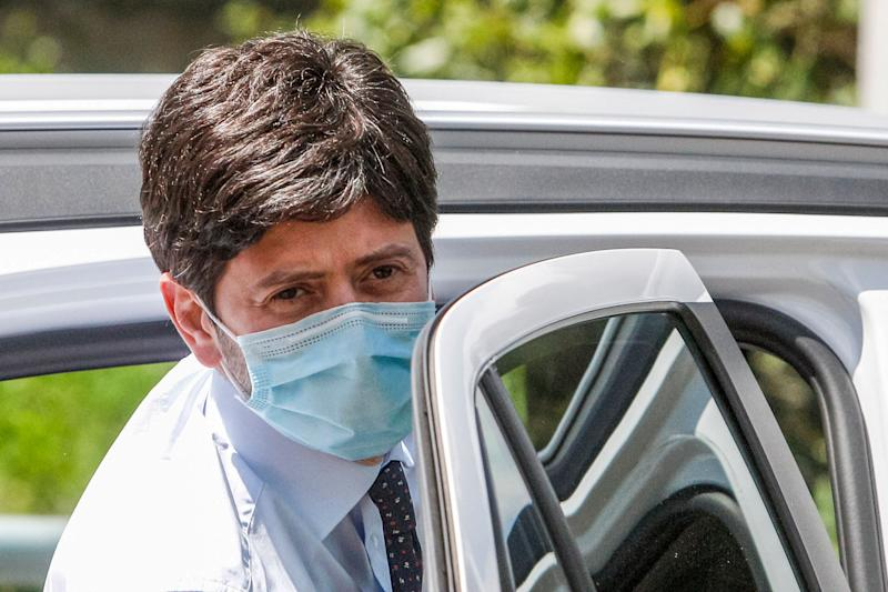 Italy's Health Minister Roberto Speranza leaves after attending a thanksgiving ceremony dedicated to physicians and nurses of the Italian Civil Protection in Rome, Monday, June 22, 2020. (AP Photo/Riccardo De Luca) (Photo: ASSOCIATED PRESS)
