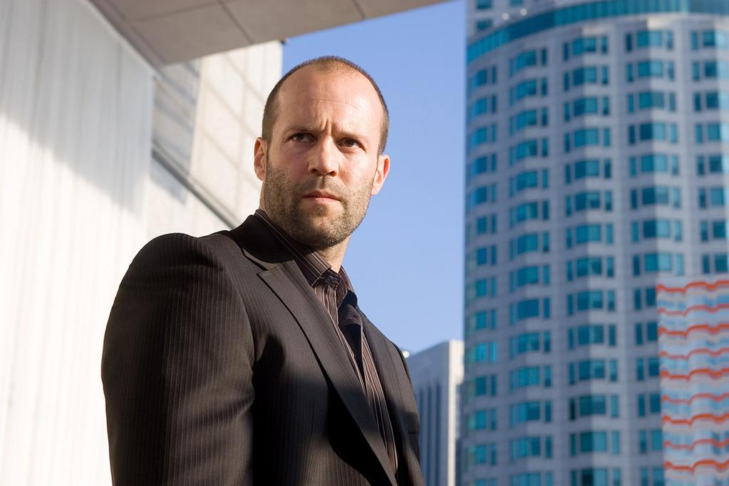 """<a href=""""http://movies.yahoo.com/movie/contributor/1800023090"""">JASON STATHAM</a>, <a href=""""http://movies.yahoo.com/movie/1808725259/info"""">Crank</a>  Chev Chelios gets poisoned, beaten, electrocuted, dropped from the sky, and has his heart removed, so a receding hairline is really the least of his problems."""