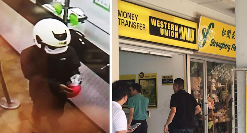 Man Arrested For Robbing Western Union