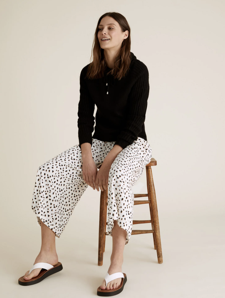 M&S' new culottes are already flying off the shelves. (Marks & Spencer)