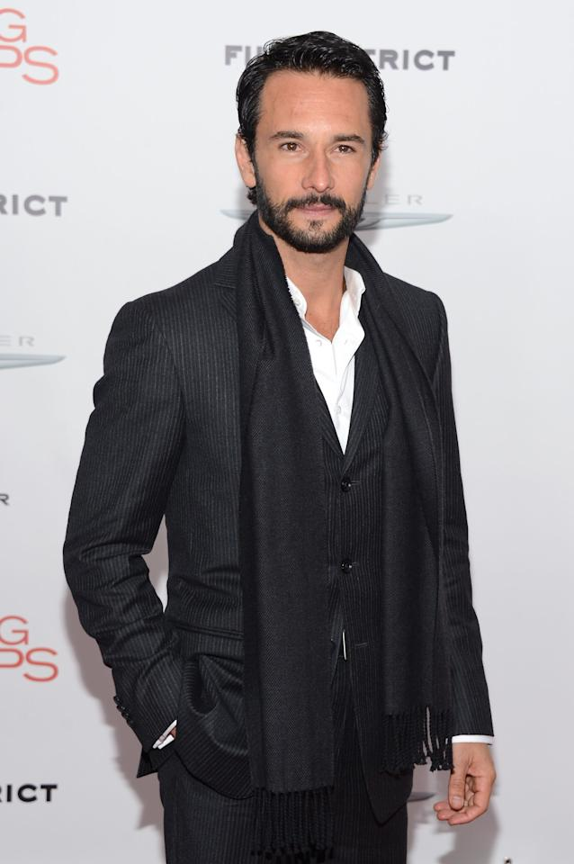 """NEW YORK, NY - DECEMBER 05:  Actor Rodrigo Santoro attends Film District And Chrysler With The Cinema Society Premiere Of """"Playing For Keeps"""" at AMC Lincoln Square Theater on December 5, 2012 in New York City.  (Photo by Andrew H. Walker/Getty Images)"""