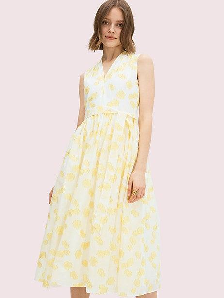 """<h3><a href=""""https://www.katespade.com/sale/?cm_sp=junehomepage-_-spot1-sos-hero"""" rel=""""nofollow noopener"""" target=""""_blank"""" data-ylk=""""slk:Kate Spade"""" class=""""link rapid-noclick-resp"""">Kate Spade<br></a></h3> <br><strong>Dates:</strong> Now - July 5<br><strong>Discount:</strong> Enjoy an extra 40% off sale styles<br><strong>Promo Code:</strong> EXTRA40<br><br><strong>Kate Spade</strong> Flora Organza Dress, $, available at <a href=""""https://go.skimresources.com/?id=30283X879131&url=https%3A%2F%2Fwww.katespade.com%2Fproducts%2Fflora-organza-dress%2FNJMUB261.html"""" rel=""""nofollow noopener"""" target=""""_blank"""" data-ylk=""""slk:kate spade"""" class=""""link rapid-noclick-resp"""">kate spade</a><br><br><br>"""