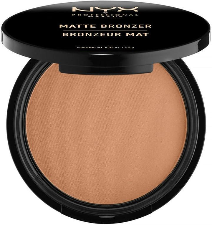 <p>This <span>NYX Professional Makeup Matte Bronzer</span> ($9) is a silky and buildable choice. The smooth formula goes on easily and comes in five different shades.</p>