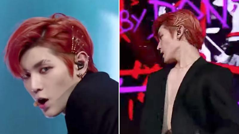 K Pop Star Taeyong Just Proved Men Can Wear Bobby Pins In Their Hair Too