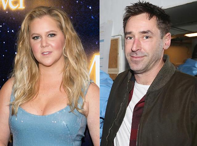 Amy Schumer and Chris Fischer (Photos: Getty Images)