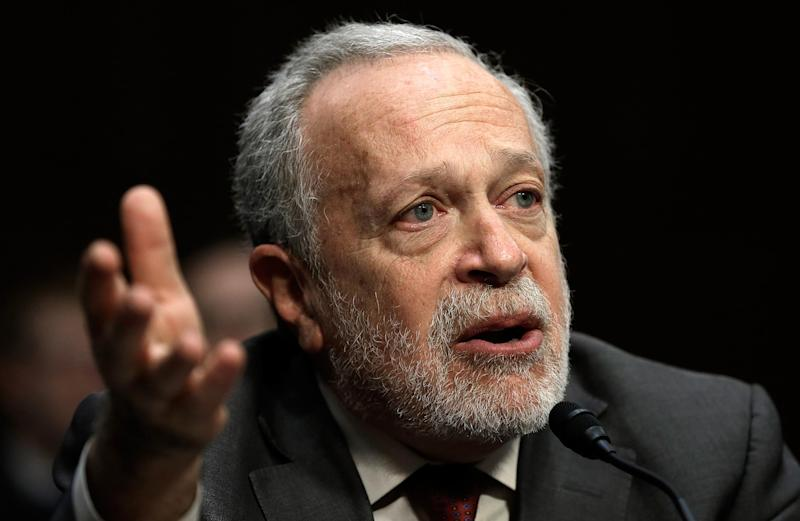 Robert Reich was Labor Secretary under Bill Clinton, and also served under Jimmy Carter and Gerald Ford: Getty