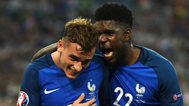 The France international defender is yet to sign fresh terms at Camp Nou which would increase his release clause, leading to exit speculation