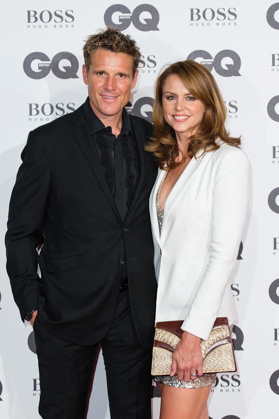 LONDON, ENGLAND - SEPTEMBER 06:  (L-R) James Cracknell and Beverley Turner arrive for GQ Men Of The Year Awards 2016 at Tate Modern on September 6, 2016 in London, England.  (Photo by Jeff Spicer/Getty Images)