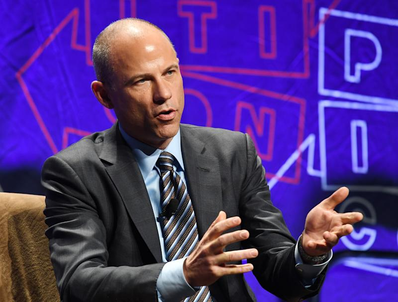 A California judge has ordered Michael Avenatti to fork over $4.85 million to his former colleague Jason Frank. (MARK RALSTON/Getty Images)