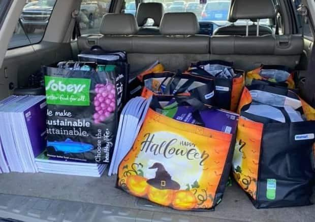 The duo collected $800 worth of supplies last fall, with hopes of shipping them to three Iqaluit schools.