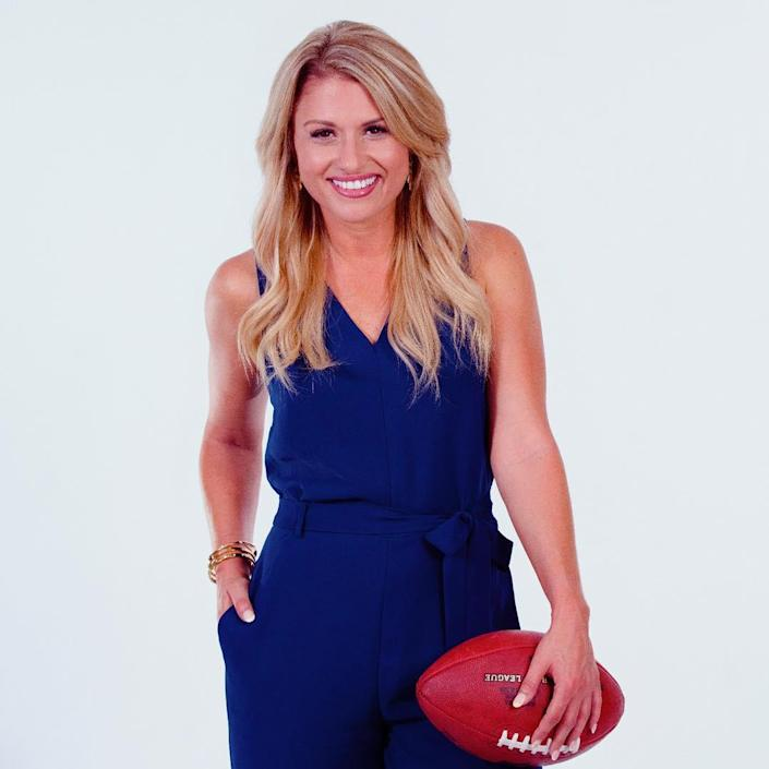NFL reporter Jane Slater claims that her ex-boyfriend's Fitbit activity made her aware that he was cheating. (Photo: Instagram)