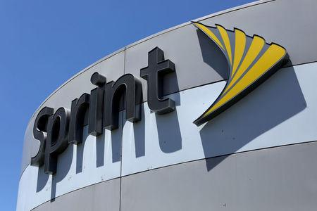 FILE PHOTO: Sprint store sign is shown in El Cajon, California