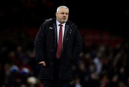 Rugby Union - Six Nations Championship - Wales vs France - Principality Stadium, Cardiff, Britain - March 17, 2018 Wales head coach Warren Gatland before the match REUTERS/Rebecca Naden