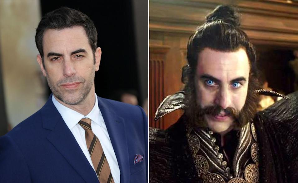 <p>Sacha BC stole the show as the Germanic Father Time. </p>