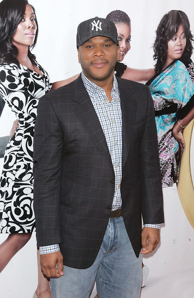 "<a href=""http://movies.yahoo.com/movie/contributor/1808615686"">Tyler Perry</a> at the New York City premiere of <a href=""http://movies.yahoo.com/movie/1810073266/info"">Tyler Perry's Why Did I Get Married Too?</a> - 03/22/2010"